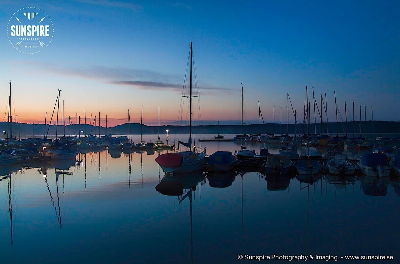 Sunrise at Eldtomta, Grödinge, Sweden