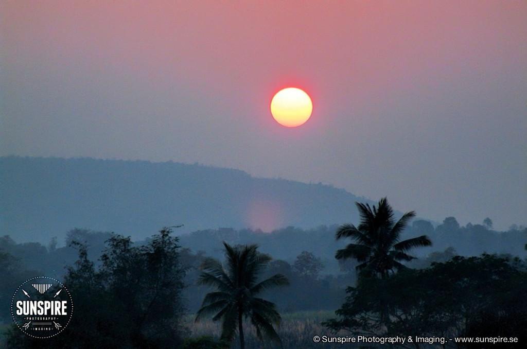 Sunset at Sikhiu, Nakhon Ratchasima, Thailand