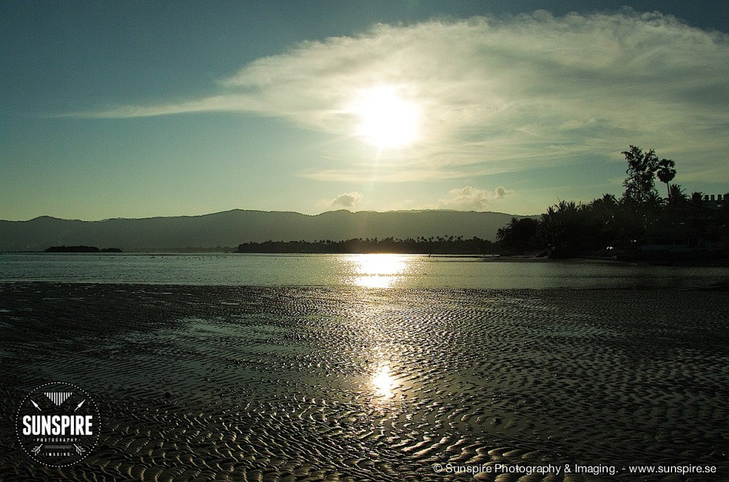 Chaweng beach at low tide... Koh Samui, Thailand