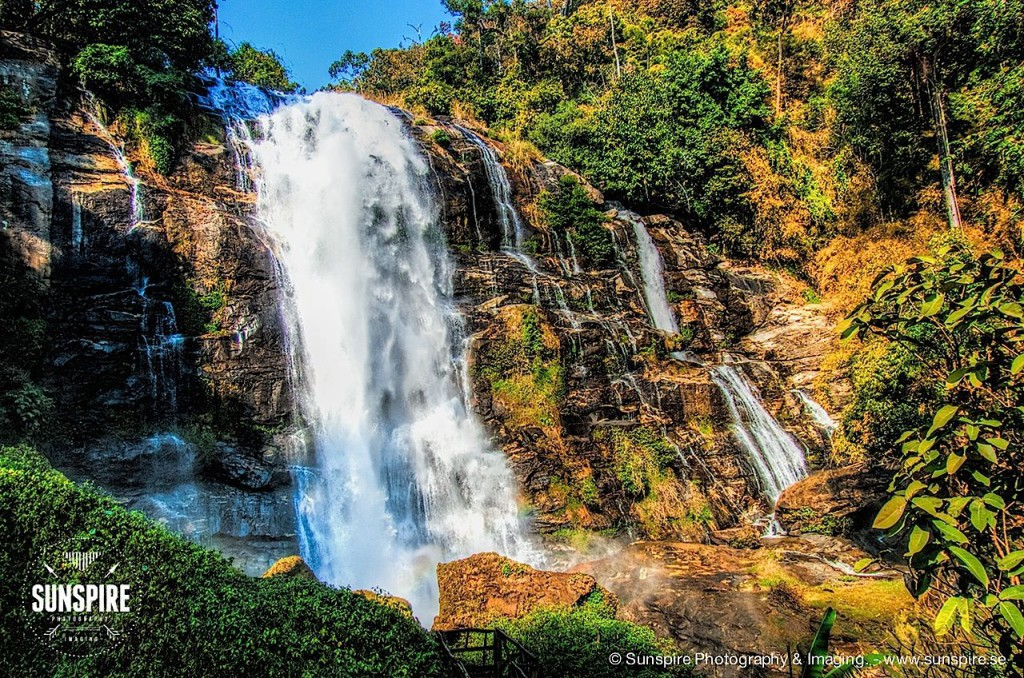Vachiratarn Waterfall, Doi Inthanon National Park, Chiang Mai, Thailand