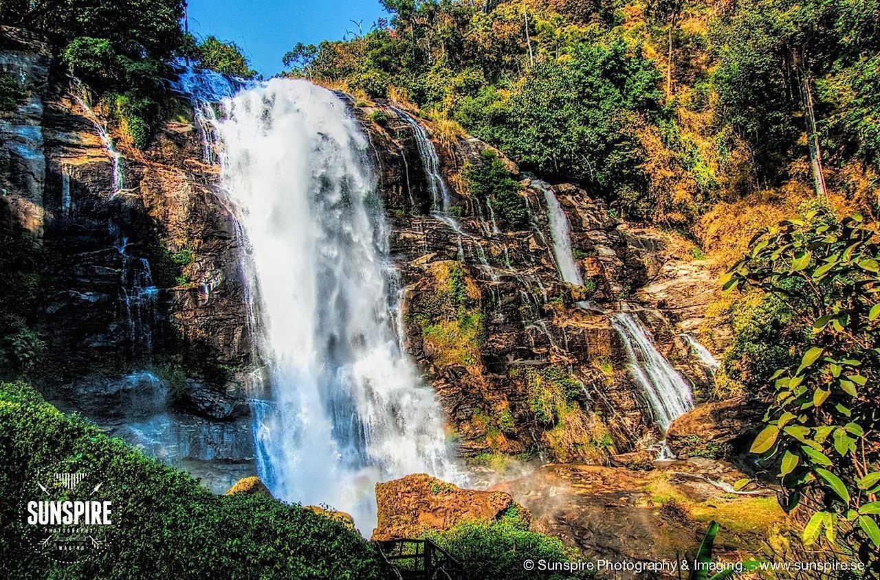 Vachiratarn Waterfall, Doi Inthanon National Park, Chiang Mai, Thailand