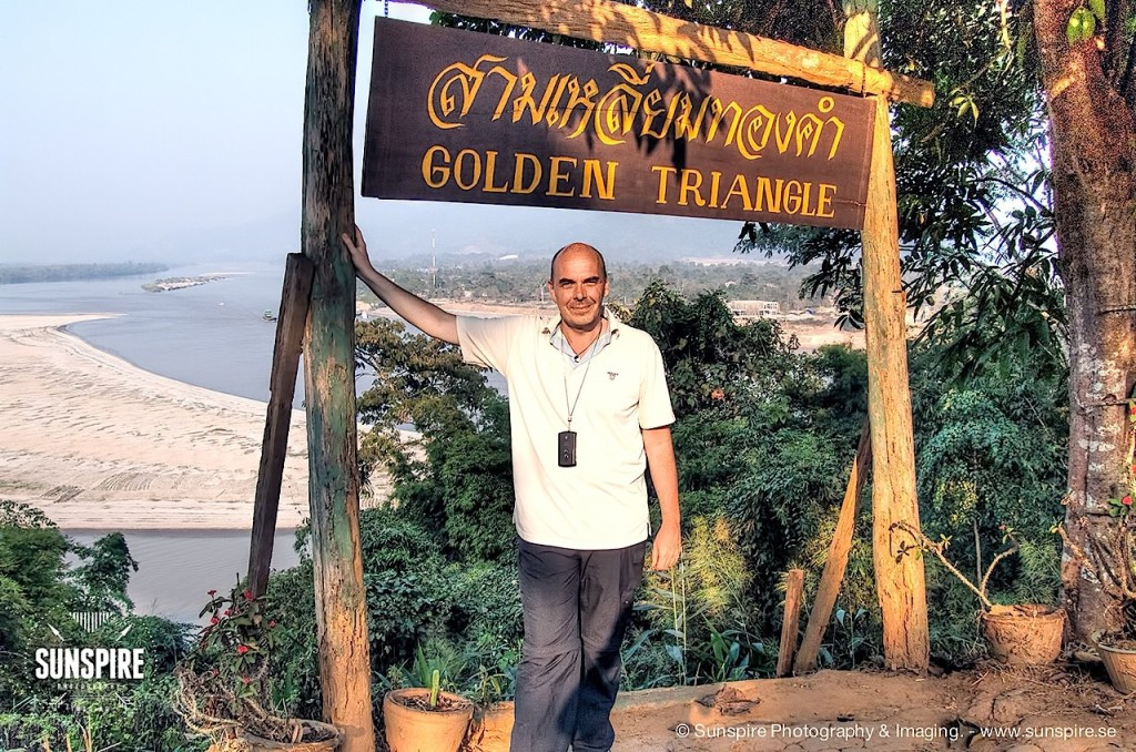 Me at the Golden Triangle, Chiang Saen, Thailand