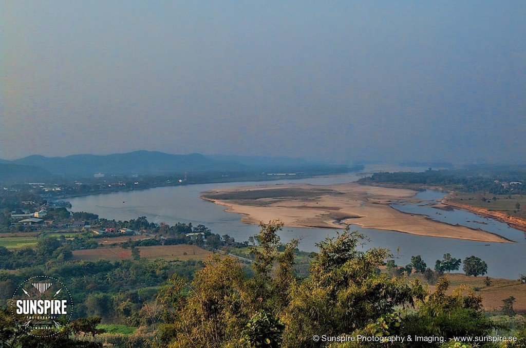 The Golden Triangle, Chiang Saen, Thailand