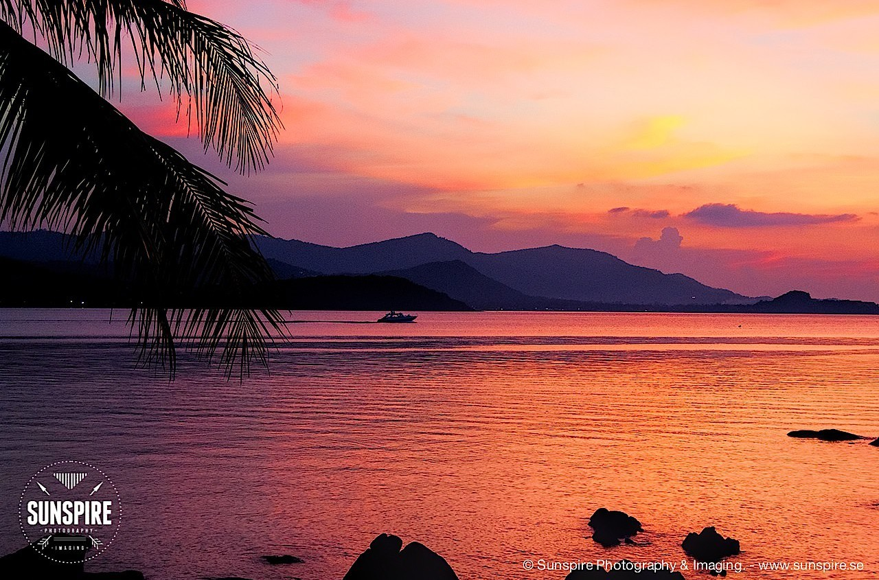 Sun below the horizon... Bo Phut, Koh Samui, Thailand