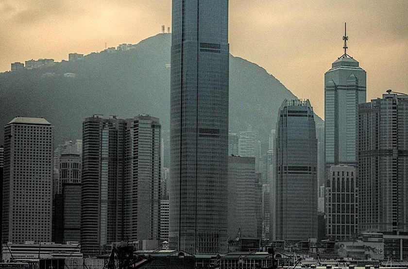 2 International Finance Centre building, Hong Kong