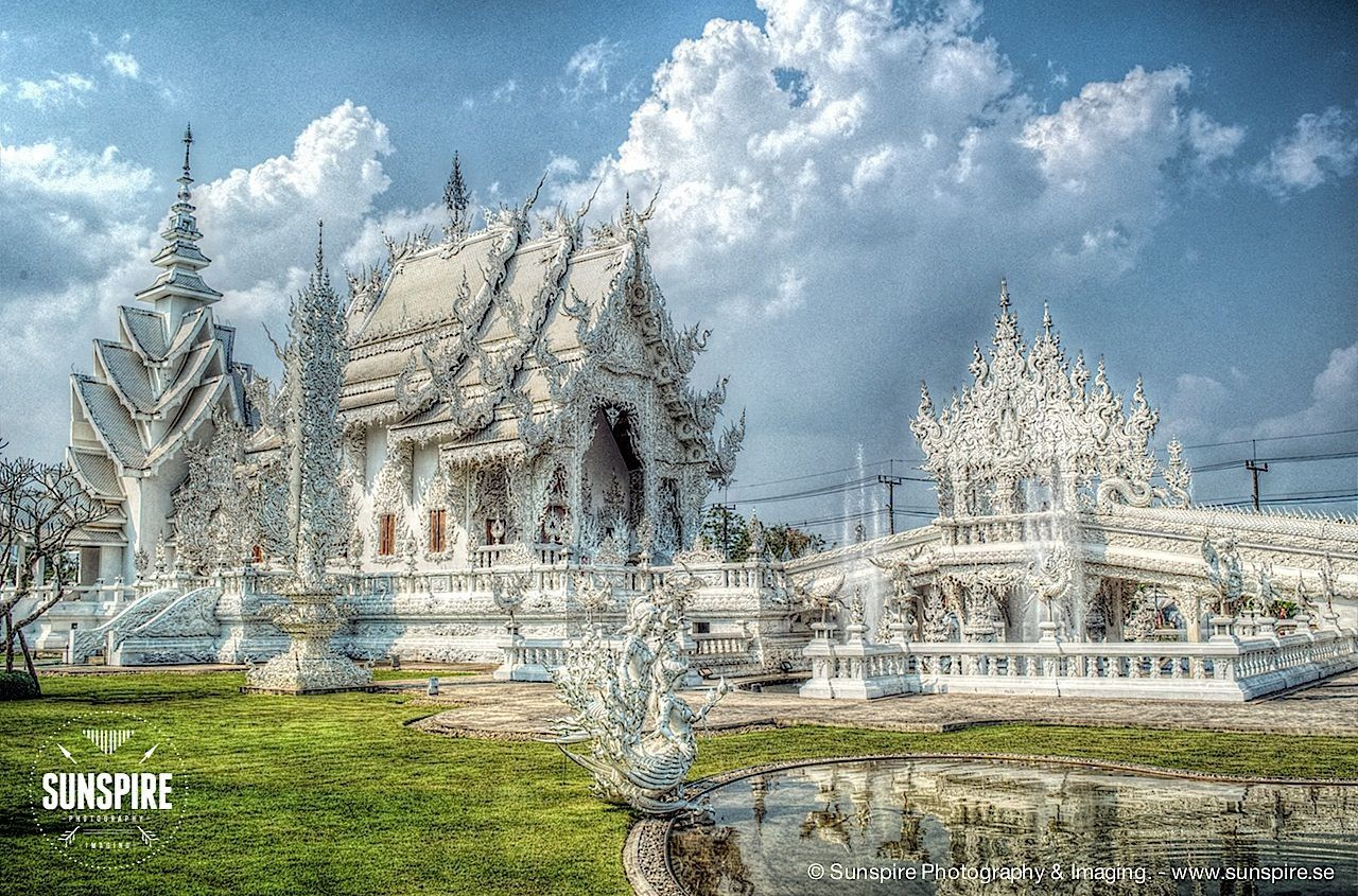 Wat Rong Khun (White Temple), Chiang Rai, Thailand 1