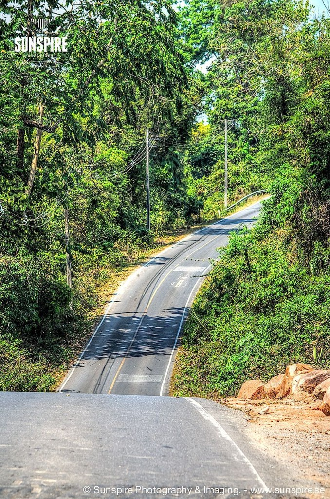 Road at Khao Yai National Park...