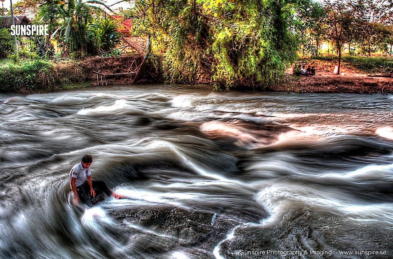 Brook in Makluea Kao, Nakhon Ratchasima, Thailand