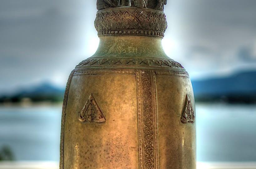 Detail Bokeh, Big Buddha Temple, Koh Samui, Thailand