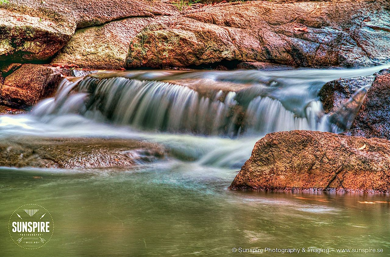Waterfall at Namuang, Koh Samui, Thailand