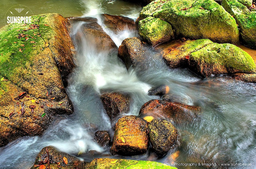 Brook at Namuang, Koh Samui, Thailand