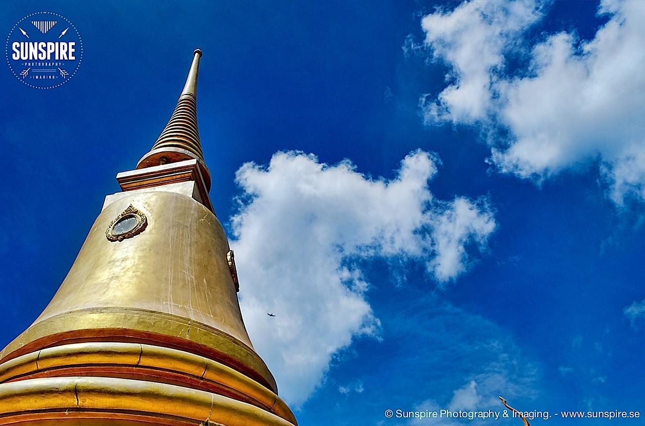 Wat Kao Hua Jook, blue sky, Koh Samui, Thailand