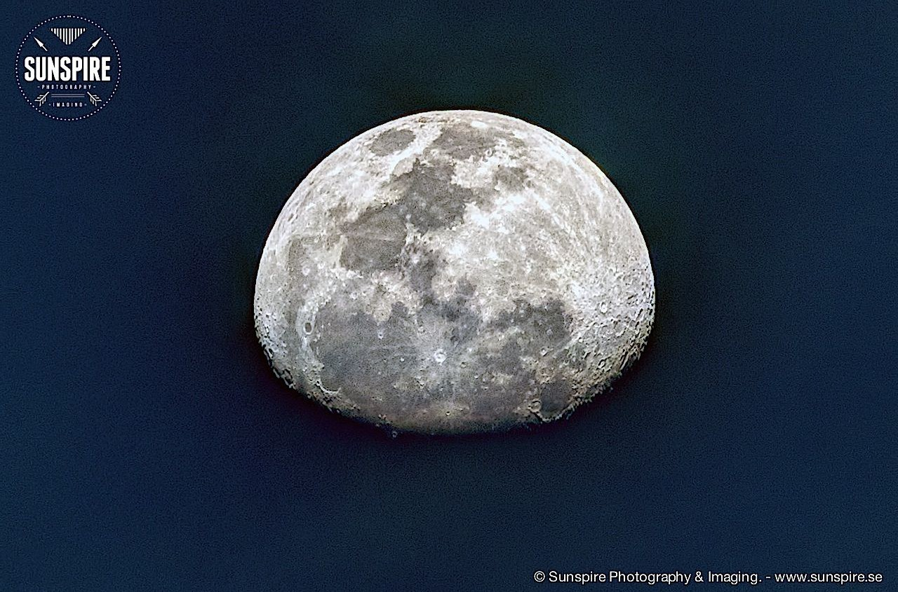 The Moon, HDR edition....