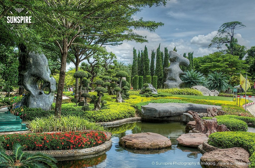 Wat Luang Phor Toh - Garden, Sikhiu, Nakhon Ratchasima, Thailand 4