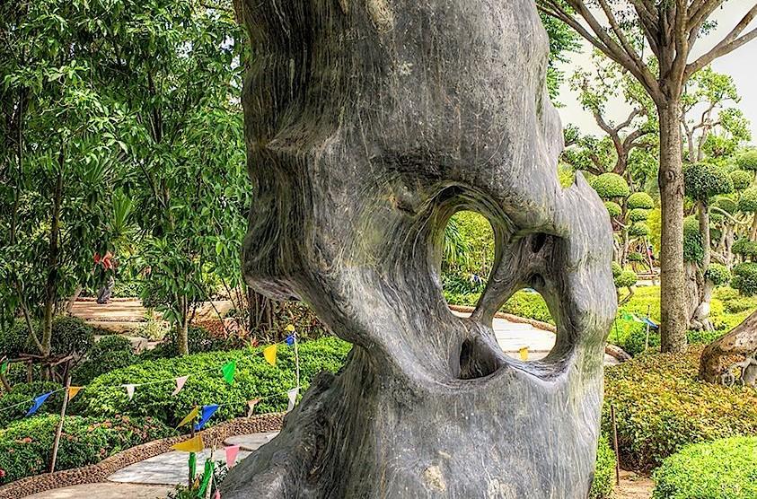 Wat Luang Phor Toh - Garden, Sikhiu, Nakhon Ratchasima, Thailand 3