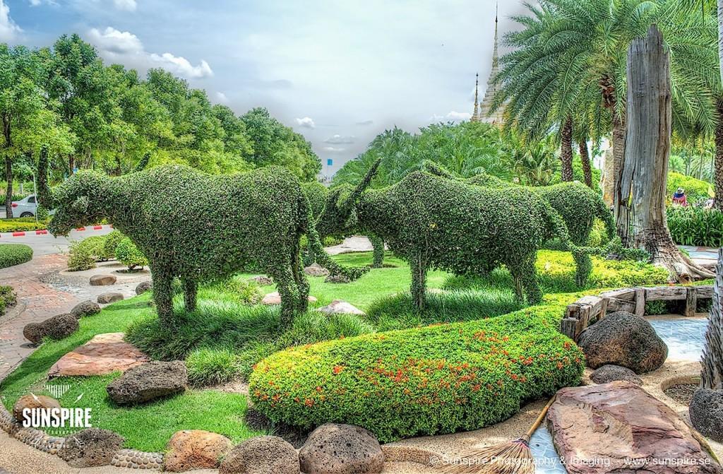Wat Luang Phor Toh - Garden, Sikhiu, Nakhon Ratchasima, Thailand 2
