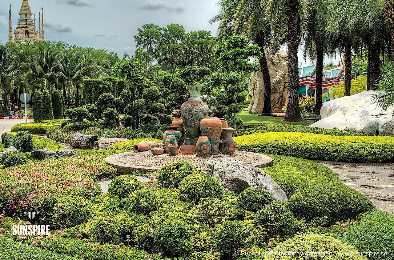 Wat Luang Phor Toh - Garden, Sikhiu, Nakhon Ratchasima, Thailand 1