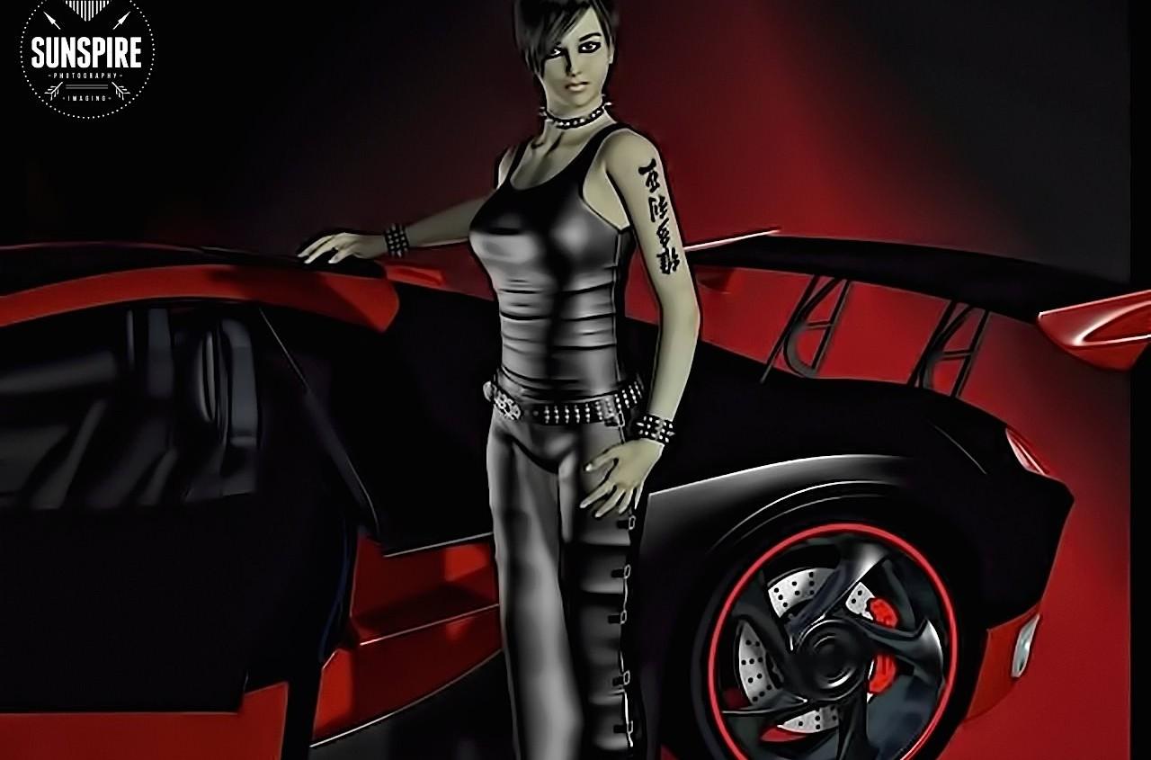 Anastasiya. Rendered in Poser 2010 Pro.