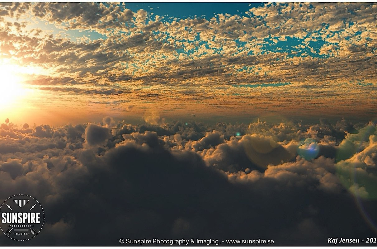 A cloudscape rendered in Vue dEsprit