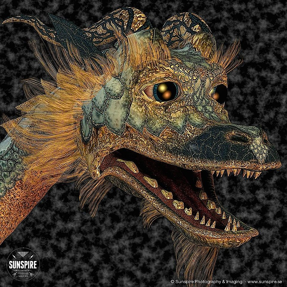 The Eastern Dragon. Rendered in Poser 2010 Pro.