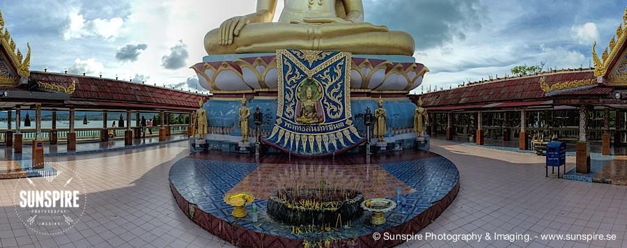 Panorama - Big Buddha Temple - Koh Samui, TH