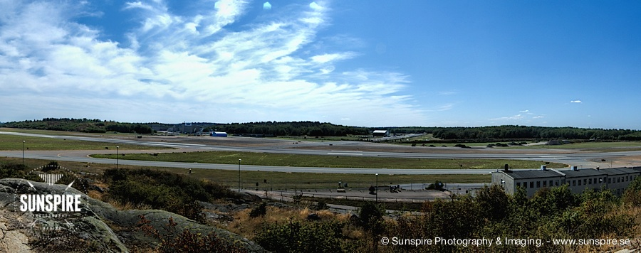 Panorama - Bromma Airport, Stockholm, Sweden