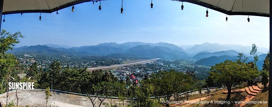 Panorama - Mae Hong Son seen from Doi Kong Mu temple
