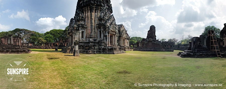 Panorama - Prasat Hin Phimai (Phimai Historical Park) - Nakhon Ratchasima, TH