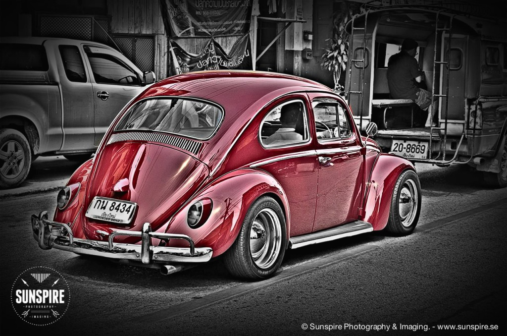 A red bug...