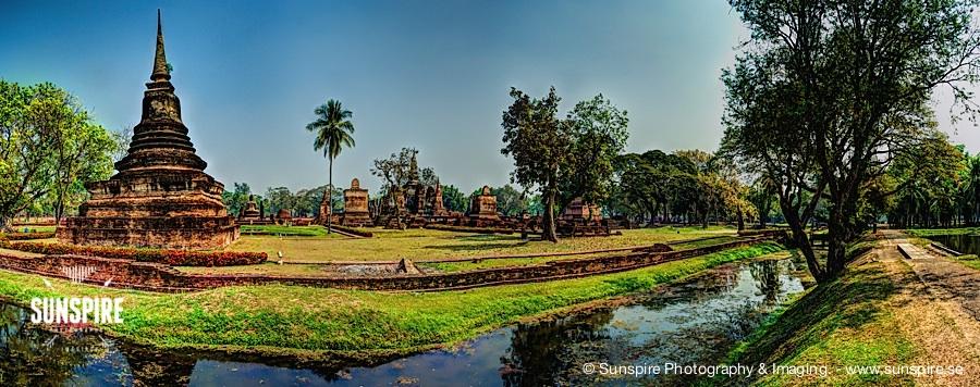 Panorama - Sukhothai Historical Park - Sukhothai, TH
