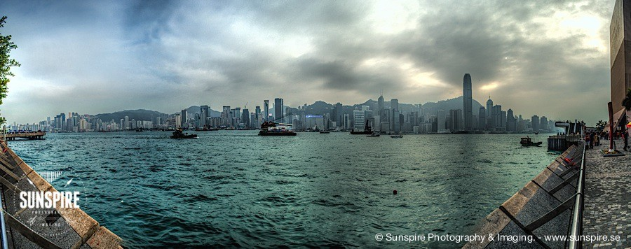 Panorama - Victoria Harbour - Hong Kong