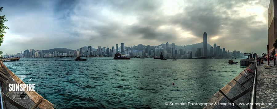 Panorama - Victoria Harbour - Hong Kong