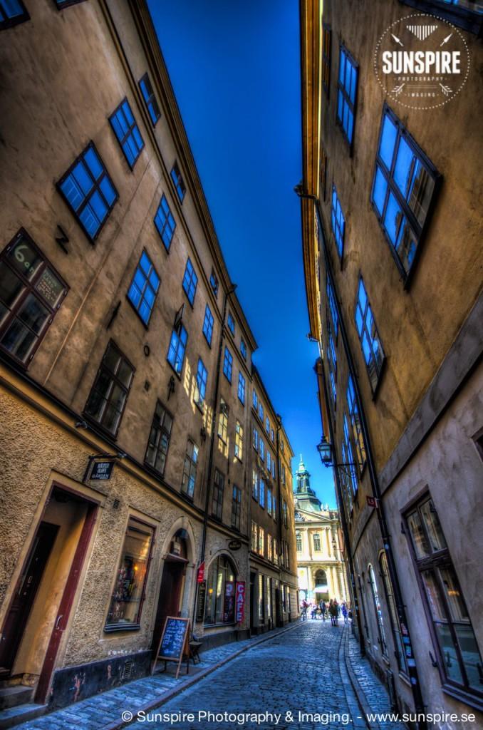 Svartmangatan, Old Town, Stockholm, SE