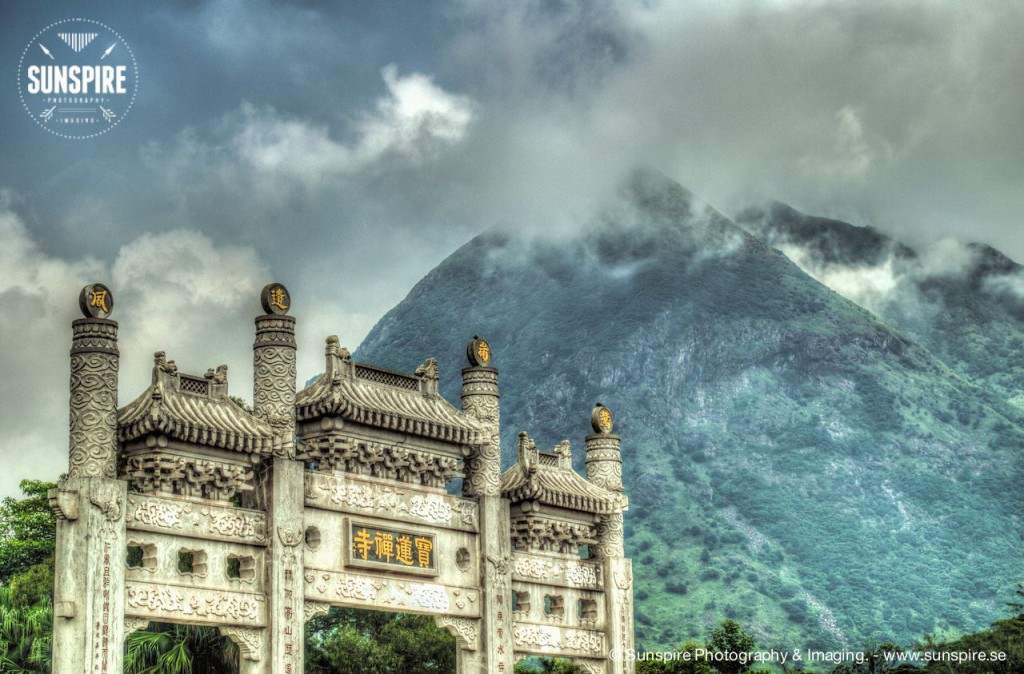 Ngong Ping village, Lantau Island - Hong Kong