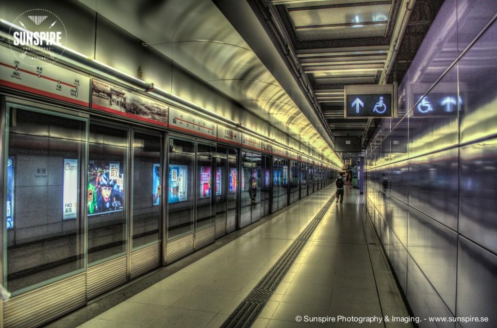 Tung Chung MTR station, Hong Kong