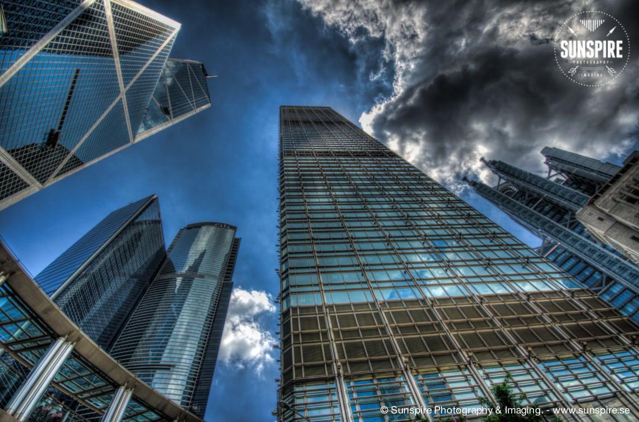 Glass & Steel.... Hong Kong island....