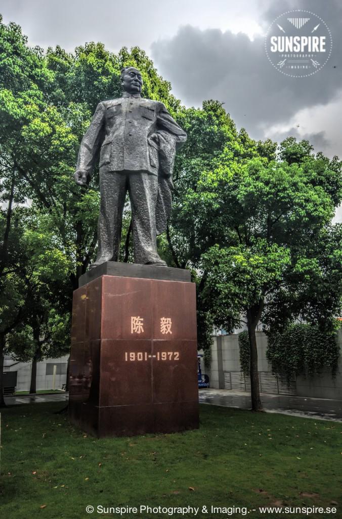 General Chen Yi statue