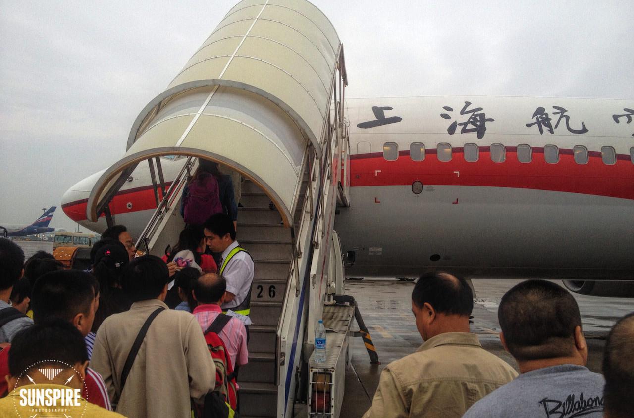 Shanghai Airlines 737-800