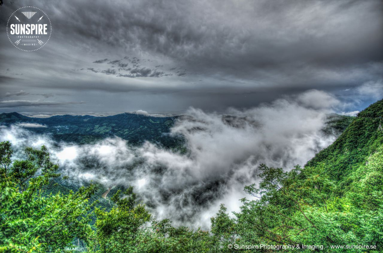 Cloud Buckling Pass - Tianmen Mountain
