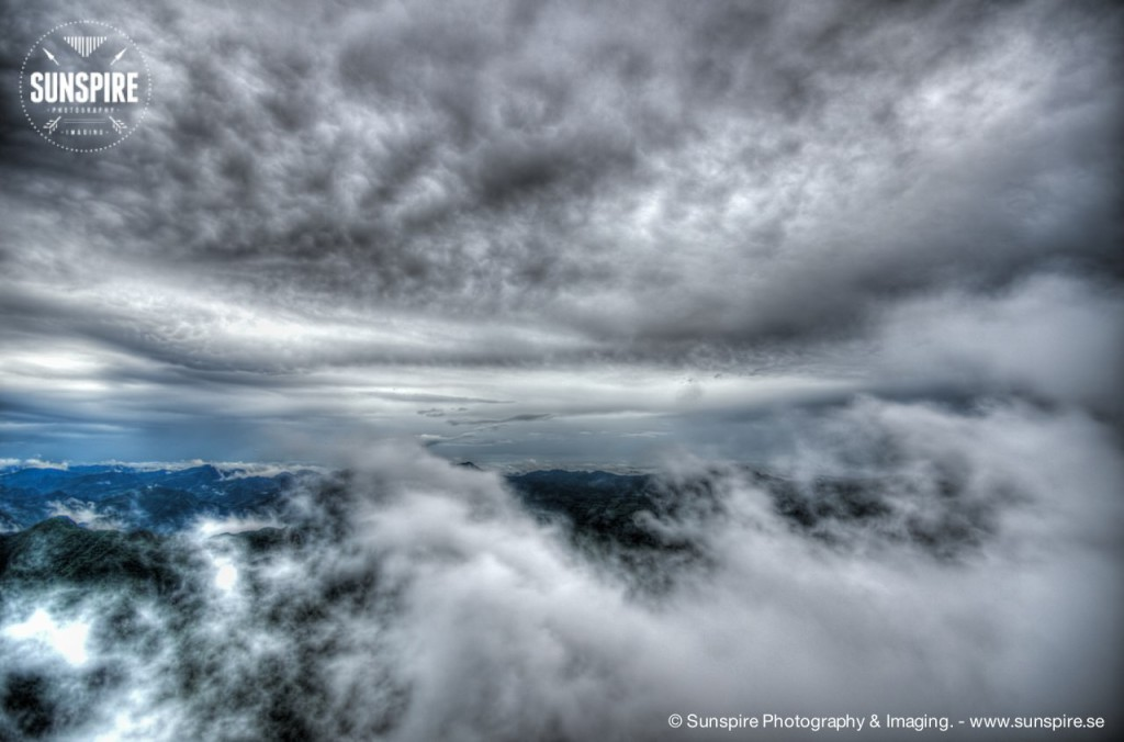 Cloudscape... Tianmen Mountain