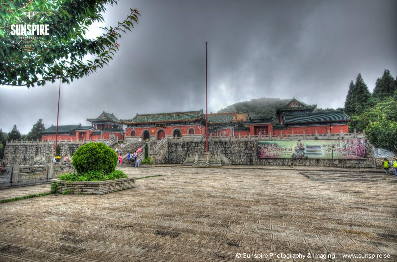 Tianmenshan Mountain Temple