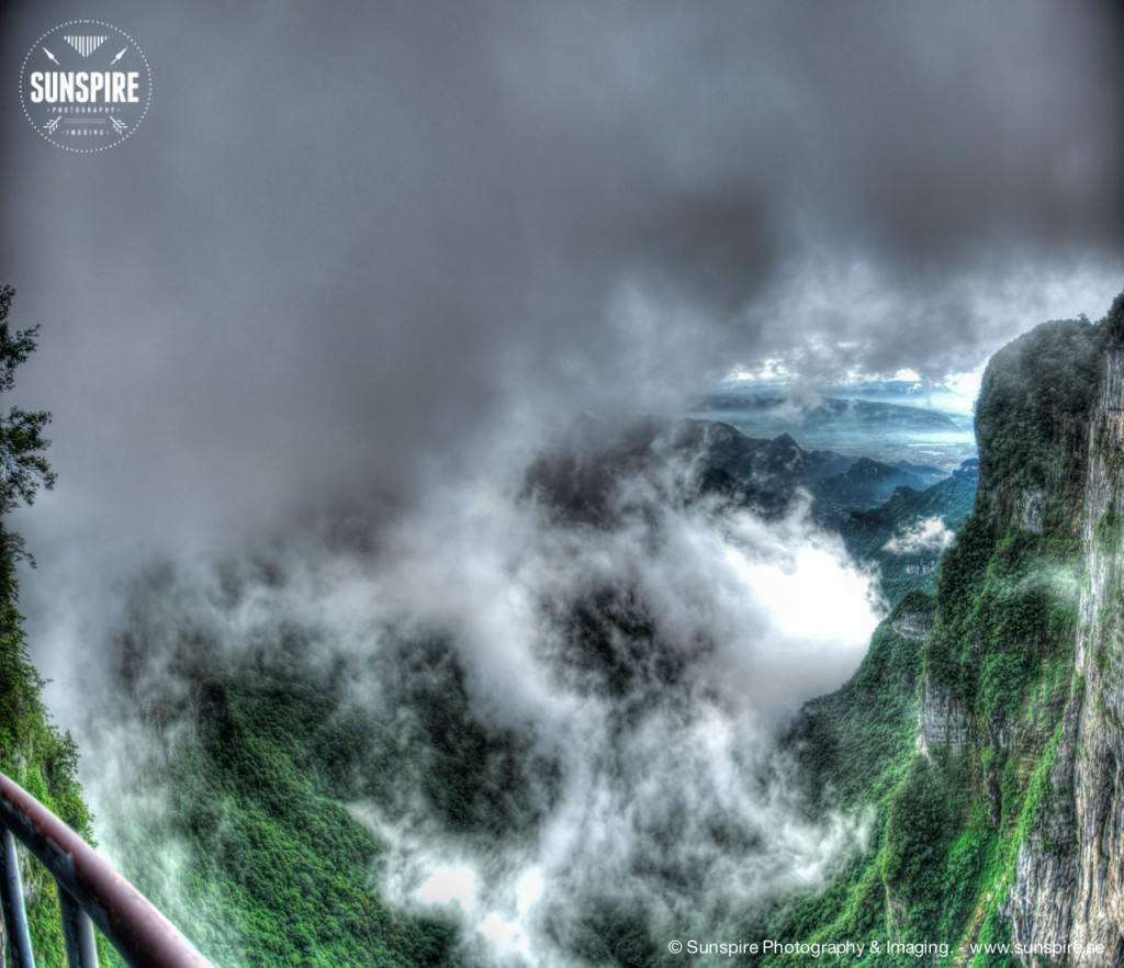 Quigu valley, Tianmen Mountain