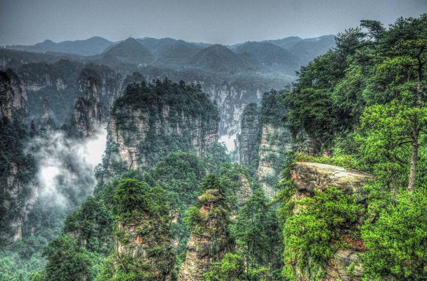Zhangjiajie National Forest Park 14