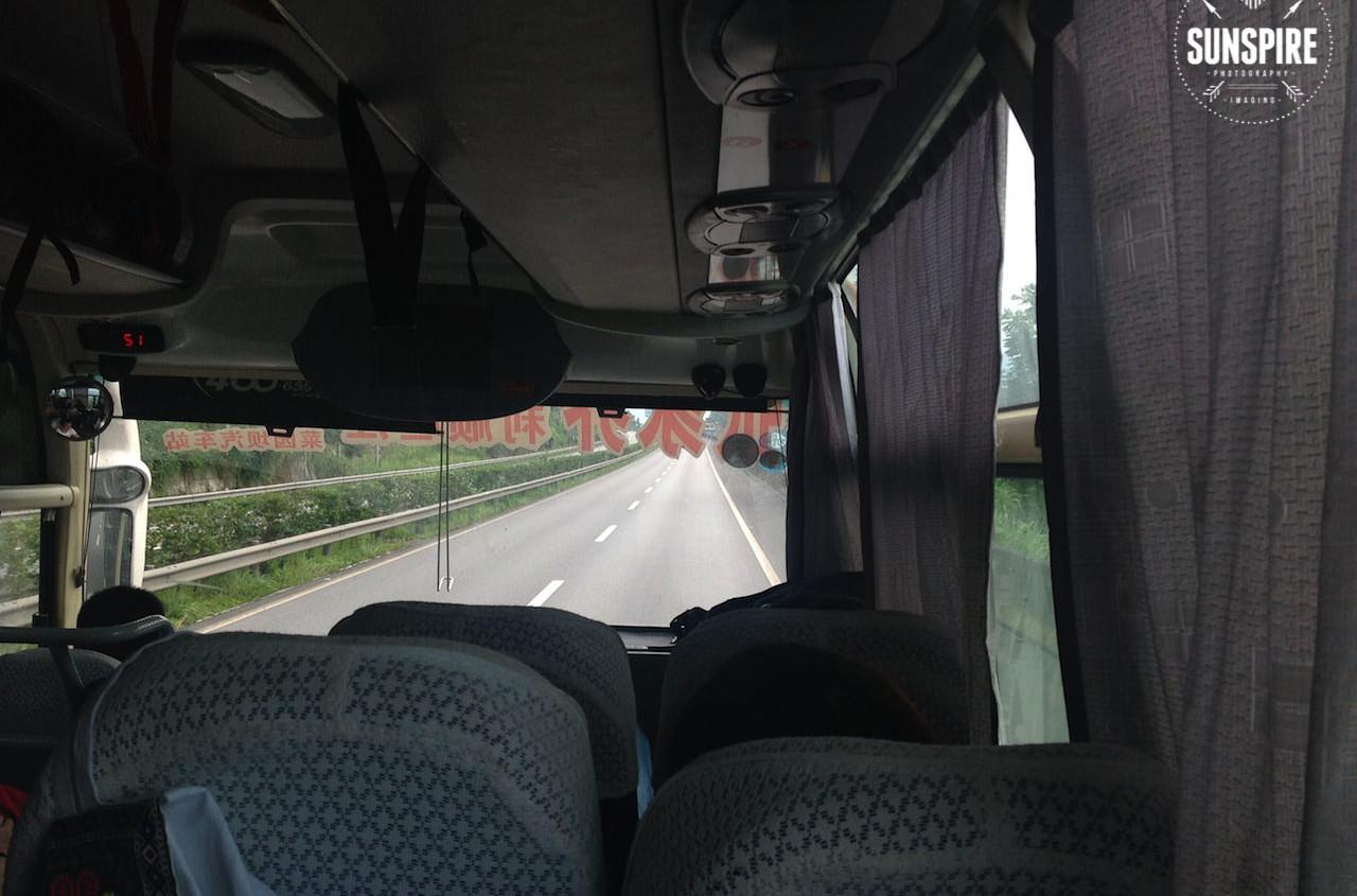 Bus Zhangjiajie-Chongqing