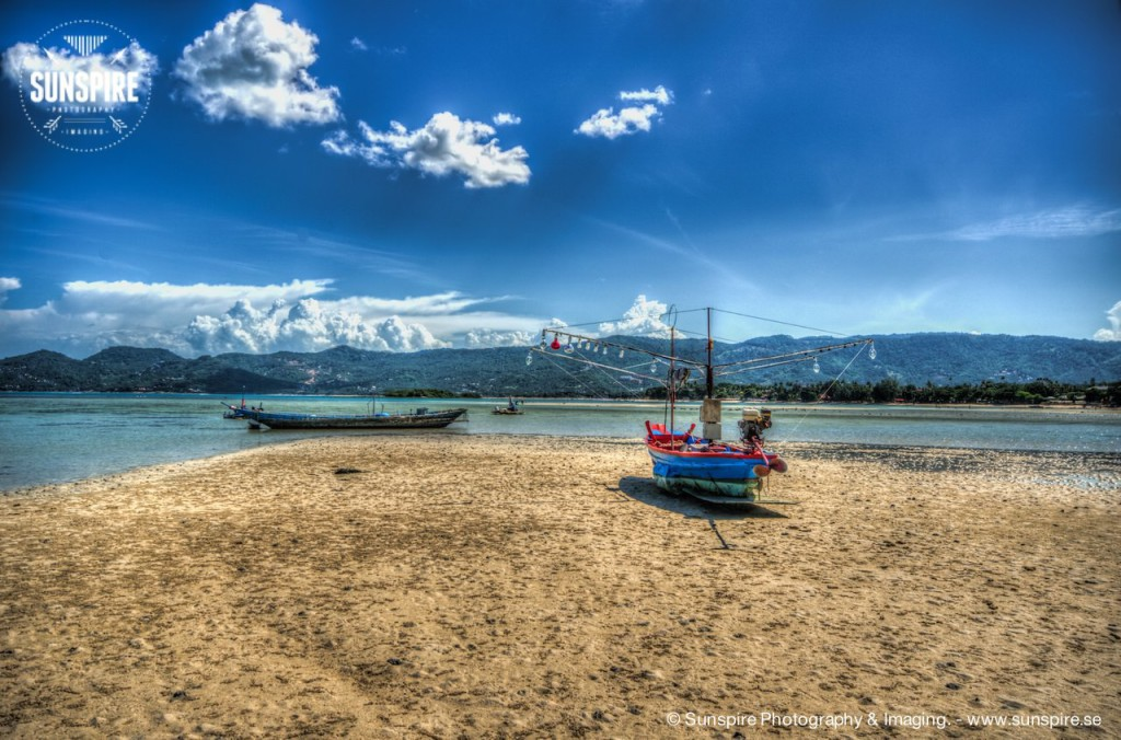 Fishing boats at Chaweng Beach