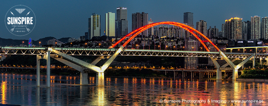 Chongqing, China - Caiyuanba Changjiang Bridge