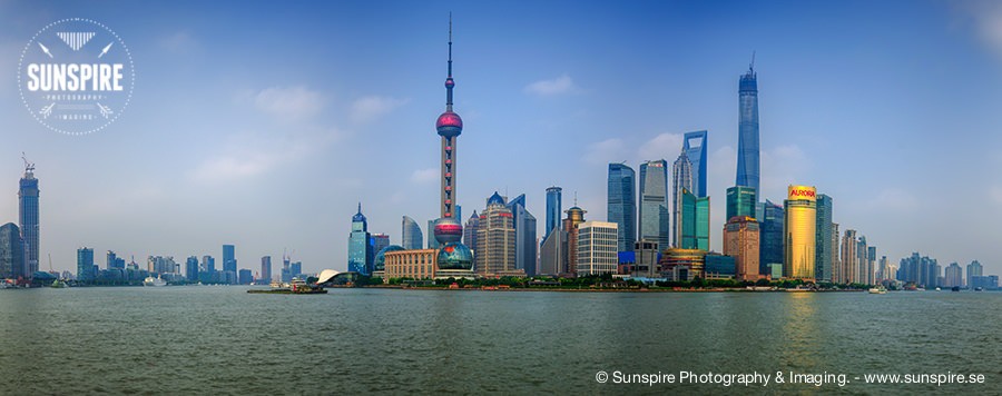 Panorama - The Bund, Shanghai