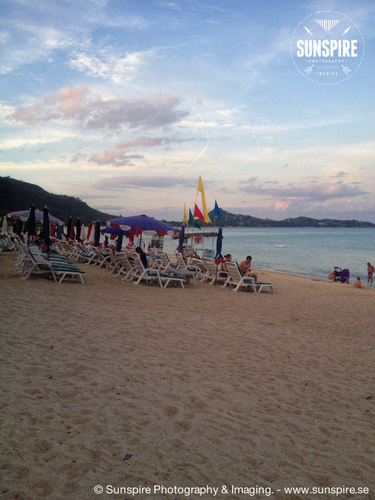 Lamai Beach in Sunset....